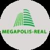 мегаполис лого серый 100х100